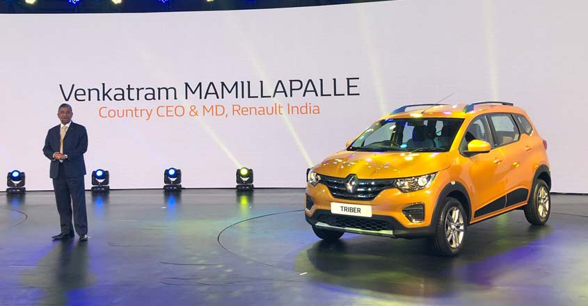 Renault unveils Triber globally in India
