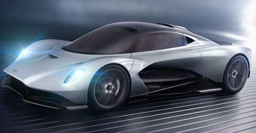Aston Martin Valhalla expected to be the next Bond car