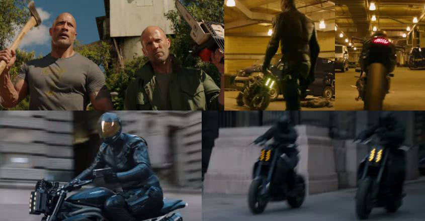 Saw the self-driving bike in Hobbs and Shaw trailer?
