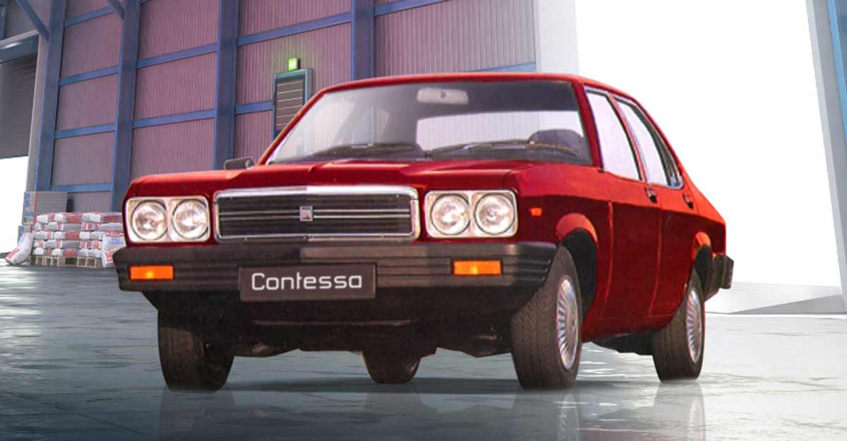 The luxury before Benz and Audi - our own Contessa