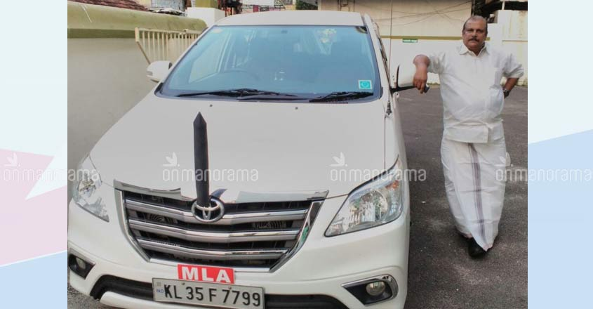 Own or party given, politicos need cars to stay in touch with us