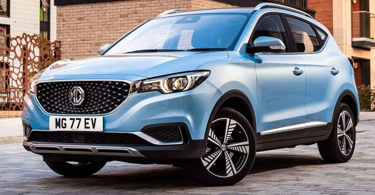 After Hector, MG drives in ZS Electric SUV