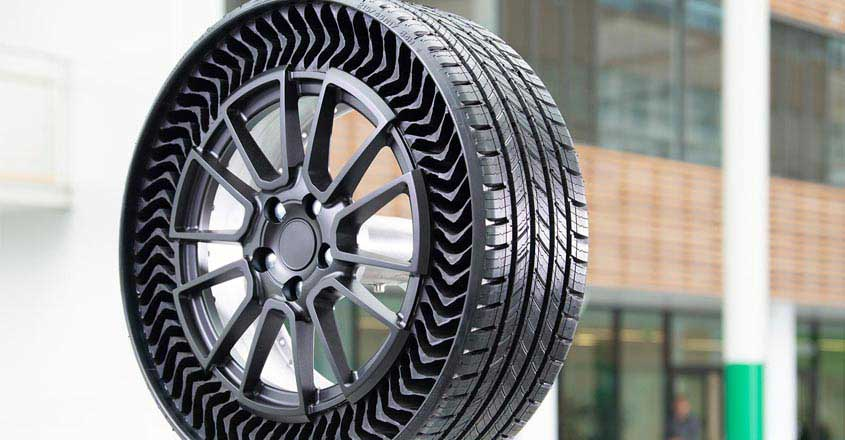 Coming soon, puncture-proof, airless tyres