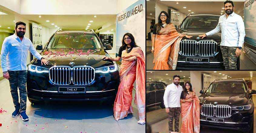 Gopi Sundar is first to own a BMW X7 in India