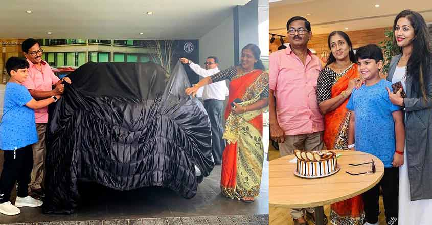 MG Hector, a cracker of a gift for Navya Nair's parents, floored the actress
