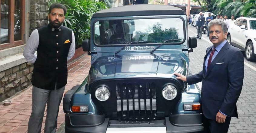 Anand Mahindra gifts rare Thar 700 to Udaipur prince