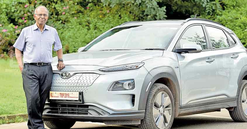 The Kerala surgeon who 'operates' the first fully electric SUV in India