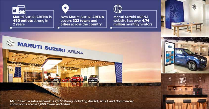 Maruti Suzuki celebrates over 450 new Arena showrooms in 2 years