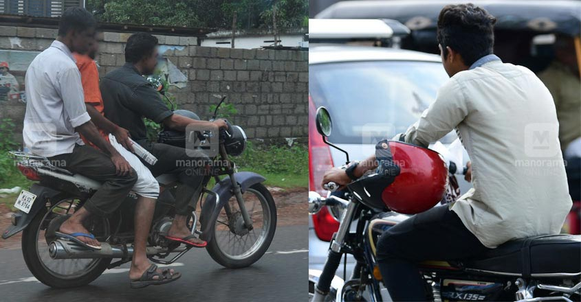 Bikers set to lose licence for 3 months if caught without helmet