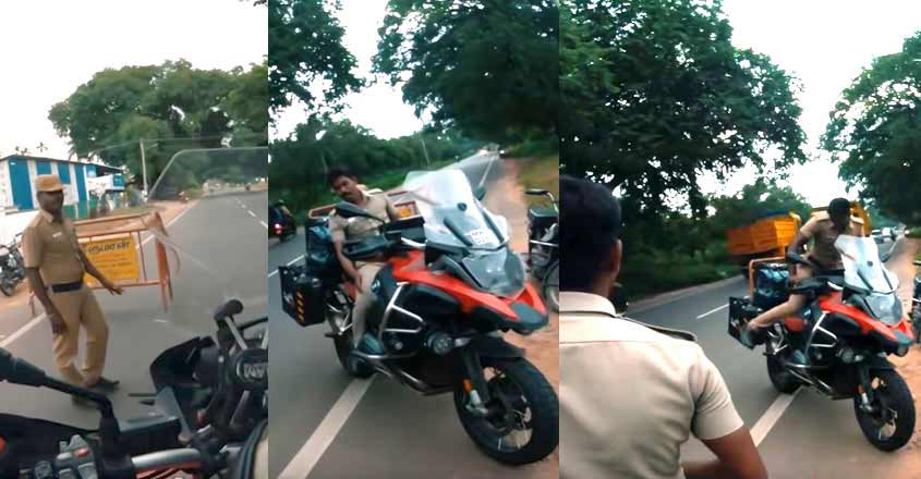 Even cops wanted to pose for a pic with this Rs 19 lakh bike | Video