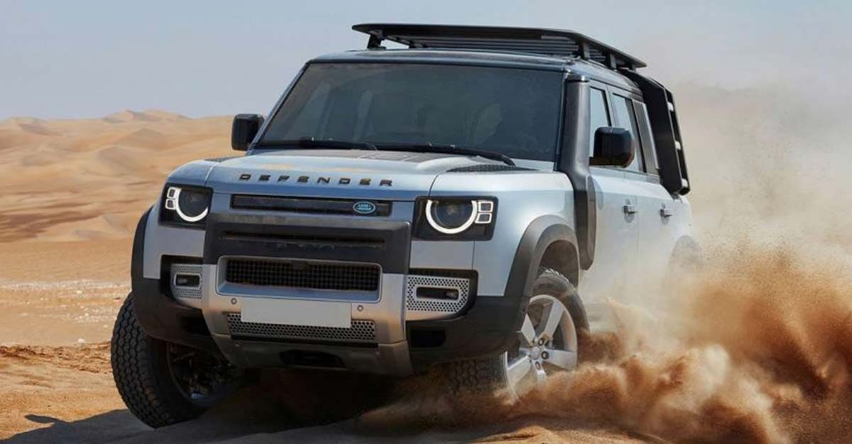 Jaguar Land Rover drives in iconic SUV Defender in India, I-Pace next in line