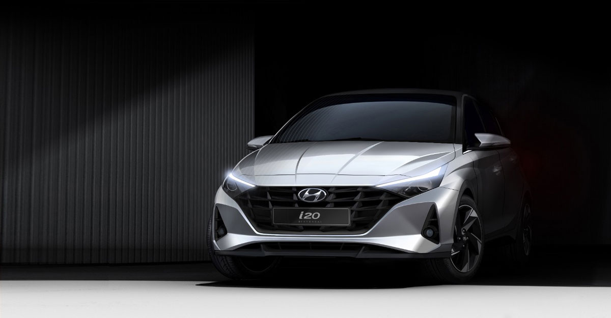 Hyundai unveils first design renders of new i20
