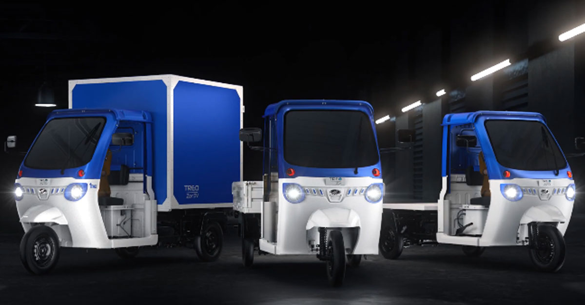 Mahindra launches 'Treo Zor' electric cargo 3-wheeler in India | Video