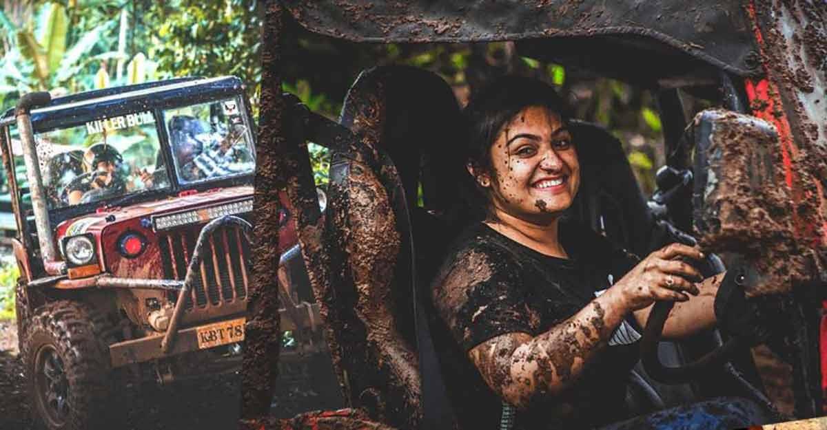 Nimisha Manjooran, a rare women off-roader who is also a champion