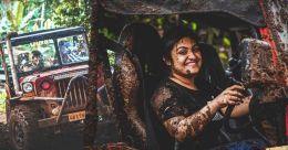 Nimisha Manjooran, a rare woman off-roader who is also a champion