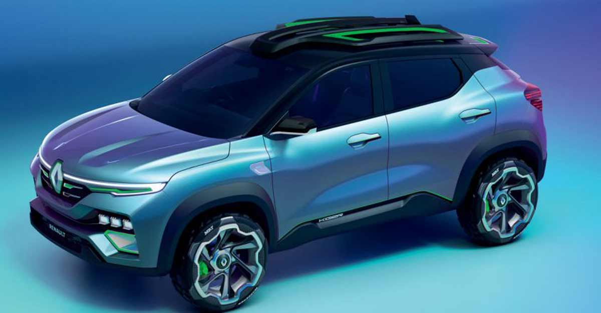 Renault to launch compact SUV KIGER in Jan-Mar 2021