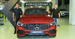 Mercedes-Benz rolls out first locally made AMG GLC 43 Coupe in India