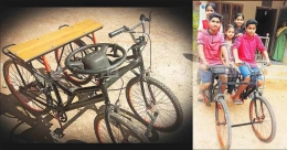 This Rs 2,600 'double cycle' could soon become a 'car'