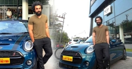 Tovino among the special 15 who drove home Mini Sidewalk Convertible in India