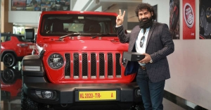 Kerala's first Jeep Wrangler Rubicon sports a No. 1 number plate worth Rs.6.25 lakh