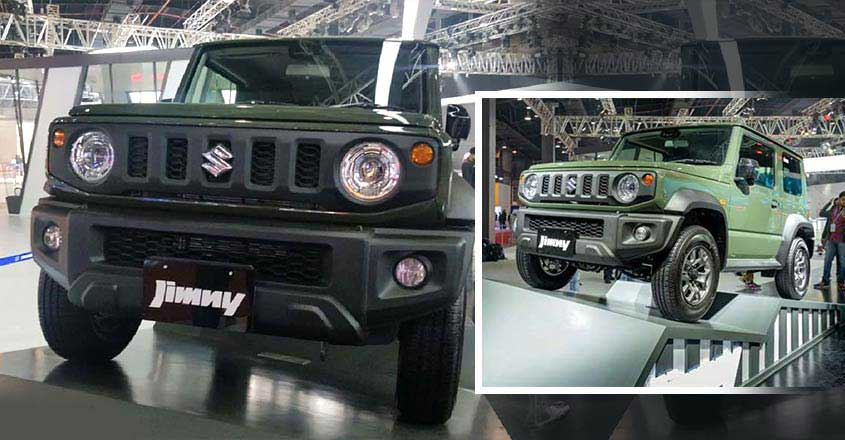Maruti's off-road vehicle Suzuki Jimny at Auto Expo 2020 | Video