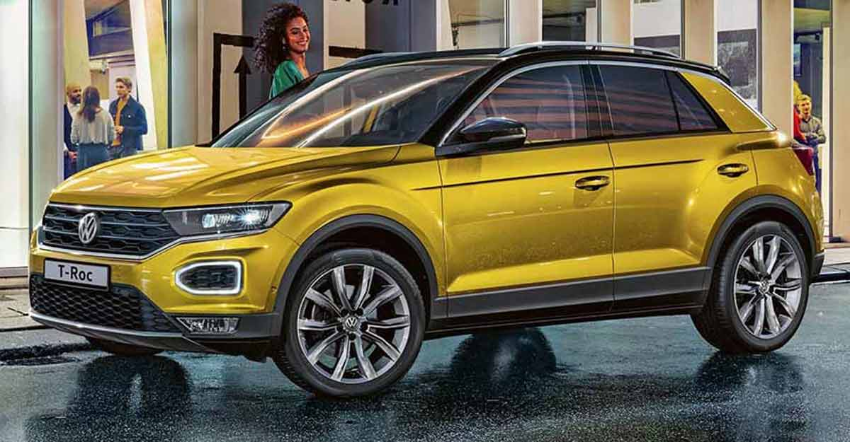 The new Volkswagen T-Roc SUV priced at Rs 19.99 lakh in India