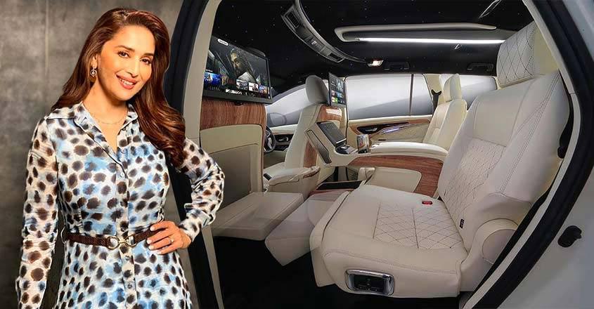 Madhuri Dixit's custom Innova Crysta trumps even Benz in luxury quotient