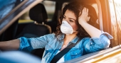How airflow inside car may affect COVID-19 transmission risk?
