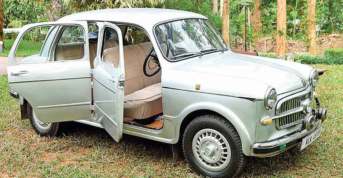 Fiat Millecento, the oldie of Kottayam that has run 6.43 lakh km