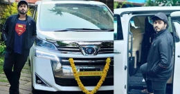 After Mohanlal, Suresh Gopi drives home luxury Toyota MPV Vellfire