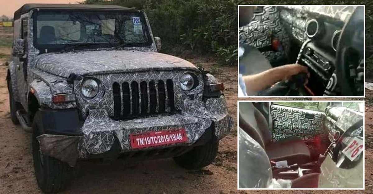 New Mahindra Thar set to get a diesel automatic