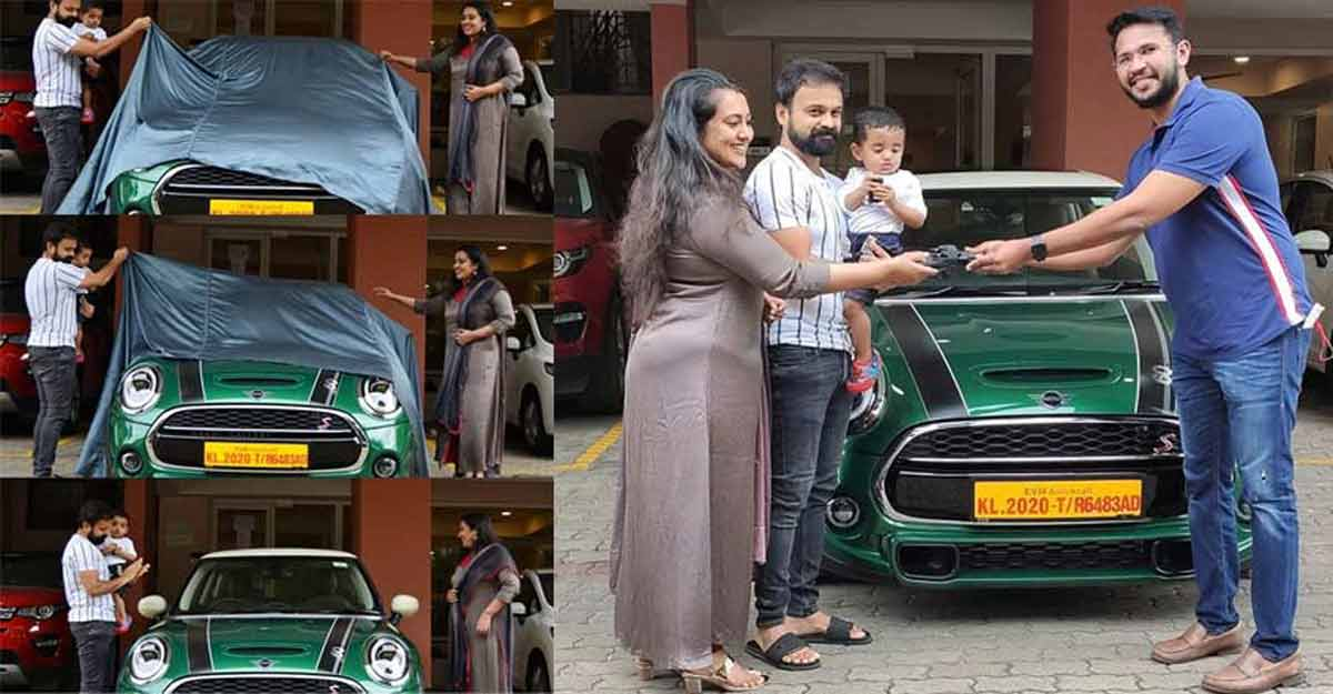 Kunchacko Boban is the proud owner of special edition Mini Cooper