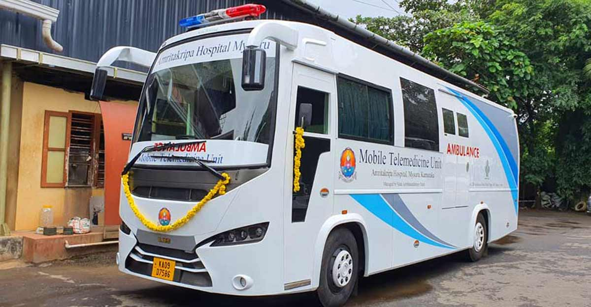 A solar-powered mobile multi-speciality mobile hospital, made in Kothamangalam | Video
