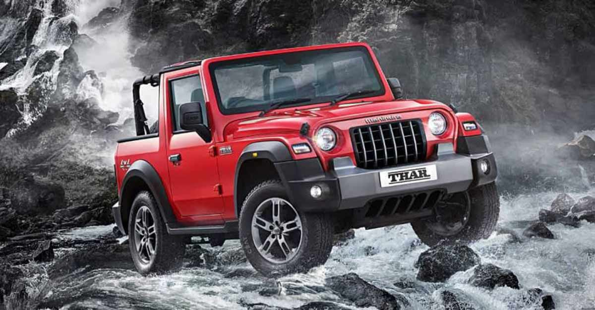 Mahindra unveils all new Thar, launch on October 2 | Video