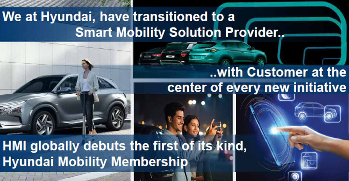 'Hyundai's new mobility membership program is aimed at making customers life-time partners'