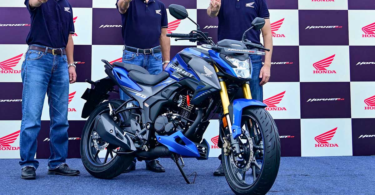 Honda forays into 180-200cc bike segment in India with Hornet 2.0
