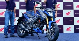 Honda forays into 180-200cc bike segment in India with Hornet 2.0