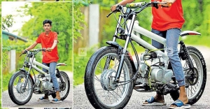 17-year-old Kottayam lad builds bike at Rs 7,000