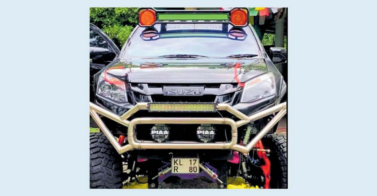Over 20 modifications, registration of 'Chekuthan' car cancelled