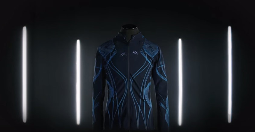High-tech jacket allows deaf people to feel the music   Video