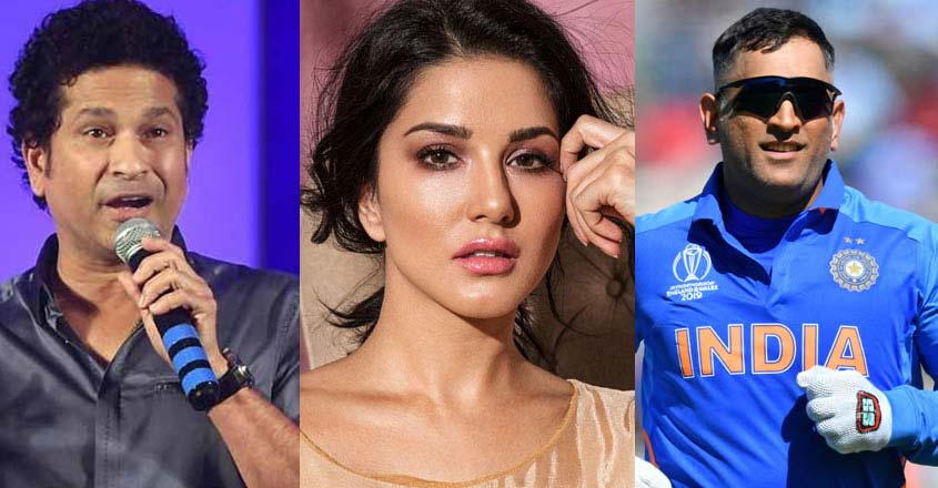 Dhoni, Sachin, Sunny Leone among McAfee's dangerous celebrities to search online