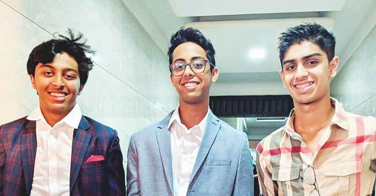 Visionary teenagers design quiz game for visually-challenged kids