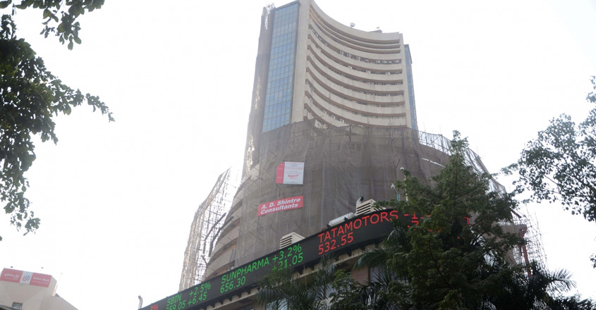 Sensex ends 212 points higher on budget day