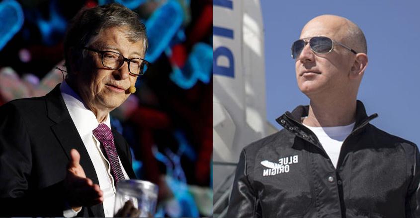 Jeff Bezos loses world's richest man title to Bill Gates