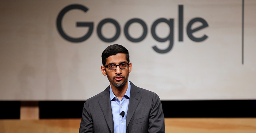 Google co-founders step aside as Sundar Pichai takes helm of parent Alphabet