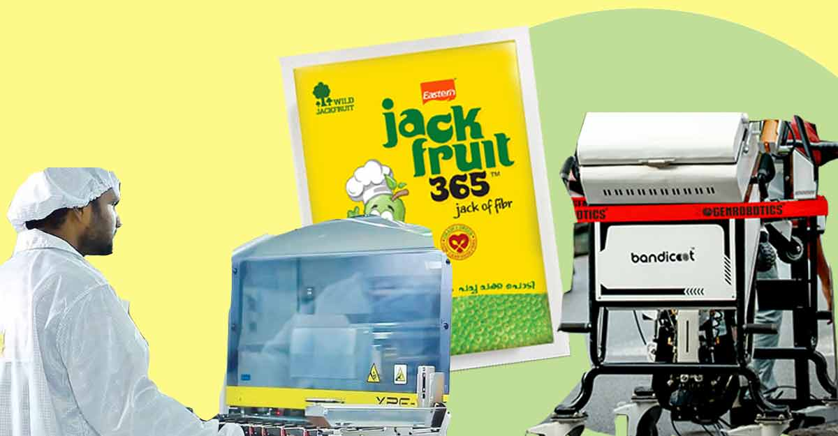 Toddy-tapping, robot scavenger & Jackfruit365:  3 Kerala startups win national awards for their unique products