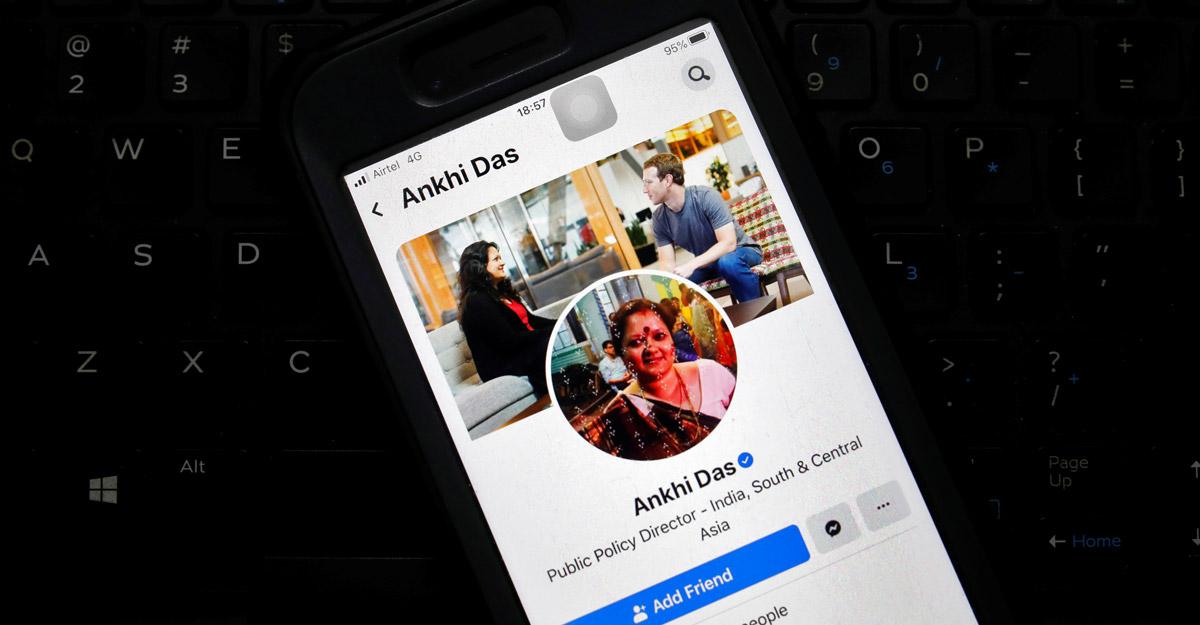 Facebook India's public policy head Ankhi Das quits