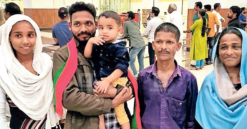Kerala youth back home after ordeal in the Gulf