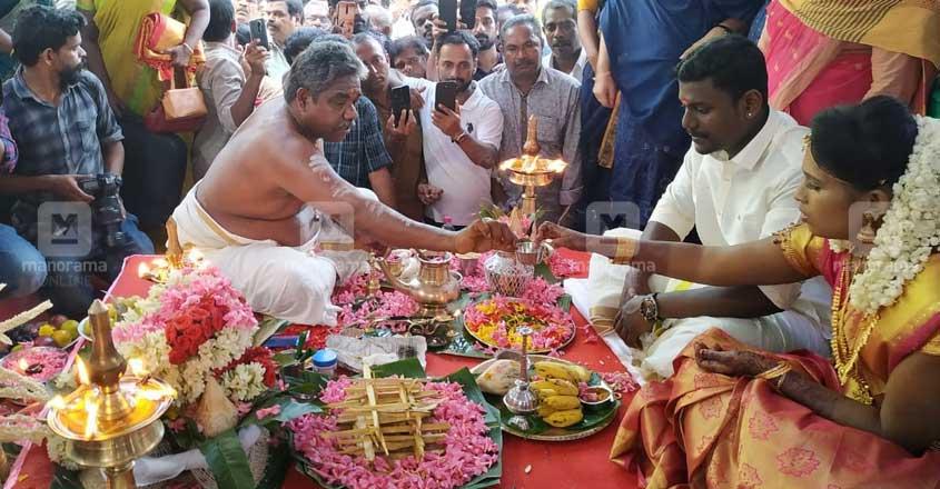 Kayamkulam mosque hosts wedding of Hindu couple