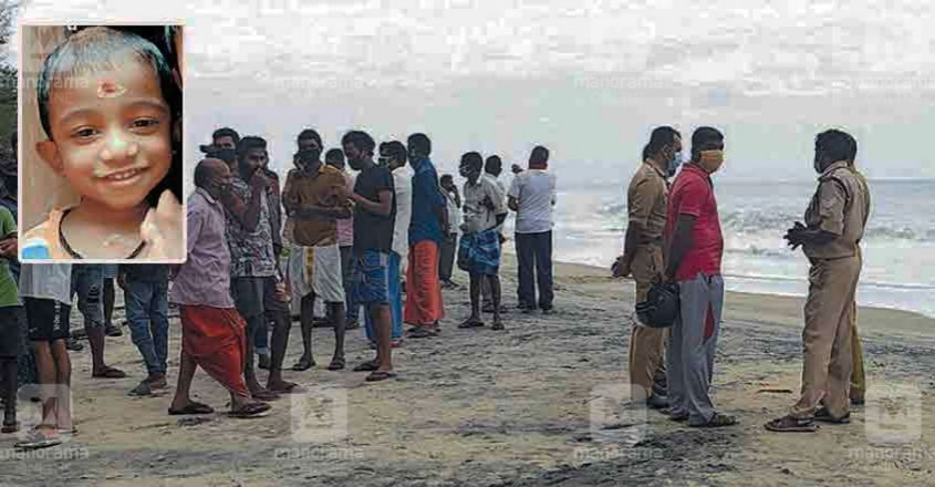Body of missing child recovered from Alappuzha beach